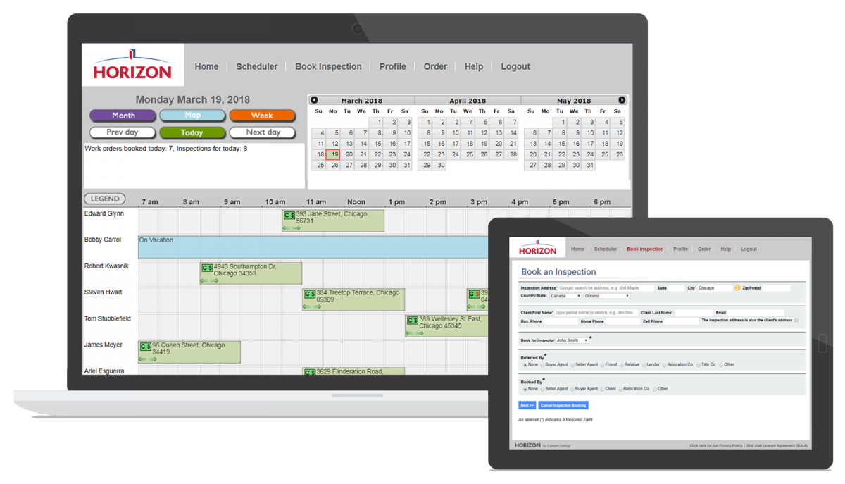Integrated Scheduling